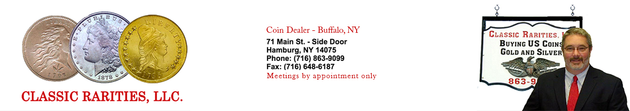 Classic Rarities LLC, Coin Dealer in Buffalo NY